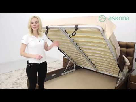 Купить двуспальную кровать Askona Virginio