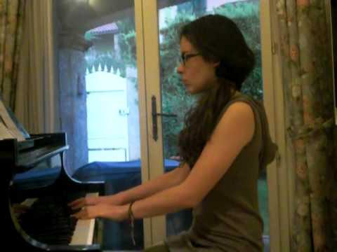 Musique du film Quatre mariages et un enterrement ( Adagio en sol mineur ) d' Albinoni au piano poster
