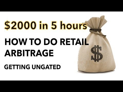 $2000 profit in 5 hours - How to do Retail Arbitrage on Amaz