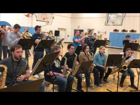 Warsaw Community High School Jazz Band at Lincoln Elementary