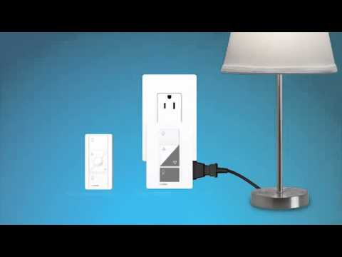 Caséta Wireless Setting Up the Plug In Lamp Dimmer Kit - LUT-PPKG1PWH