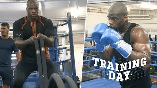 Training Day: Daniel Dubois is a beast in the gym!