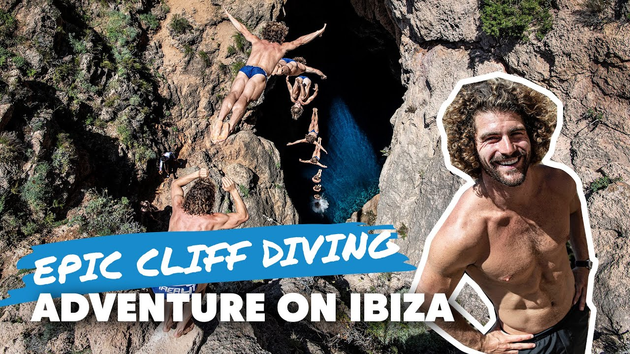 Diving Into A Hole On Ibiza 🤯