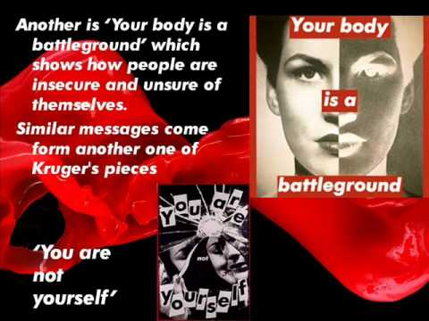 barbara kruger an art analysis Posts about barbara kruger we have received orders not to move written by dr marcus bunyan.