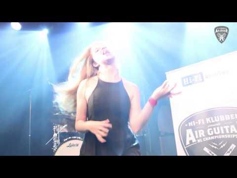 Air Guitar Finals 2015, Amsterdam, The Netherlands @ MELKWEG