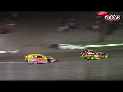 Nodak Speedway IMCA Sport Mod A-Main (8/12/18)