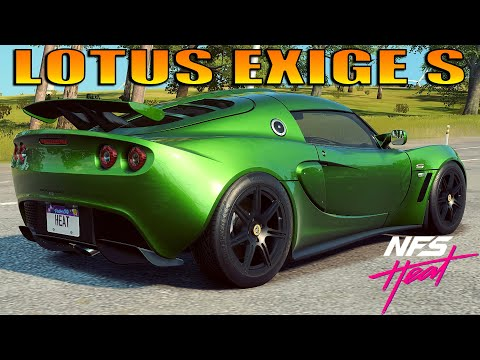 NFS Heat - LOTUS Exige S Fully Upgraded 400+ Ultimate+ Parts