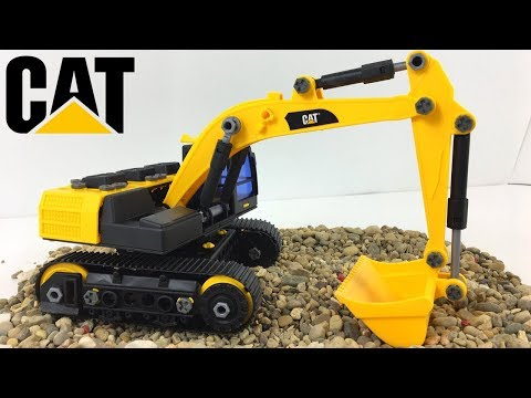 CAT MACHINE MAKER APPRENTICE EXCAVATOR WITH SMART LOC TECHNOLOGY MIGHTY MACHINE - UNBOXING