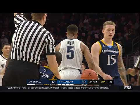No. 9 Villanova vs Quinnipiac Highlights: #BIGEASThoops