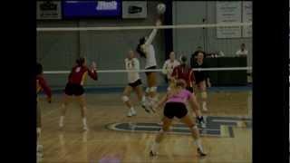 2012 Concordia St. Paul volleyball vs Minnesota Crookston, 10-19-12