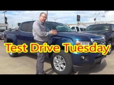 Test Drive Tuesday - 2019 GMC Canyon SLE Crew Cab