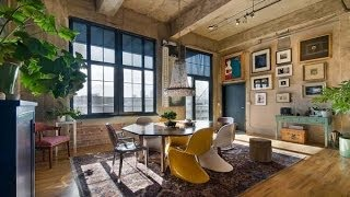 Fascinating Loft Occupying an Old Flour Mill in Denver