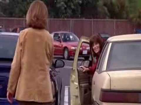 Image result for Duel at the mall Malcolm in the middle Car chase