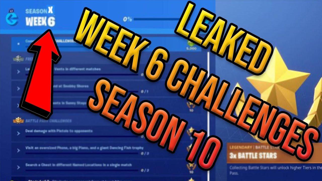 Fortnite Season 10 Week 6 Challenges Guide Leaked Boogie Down