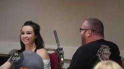 Danielle Harris Horrorcon panel moderated by Scott Drebit - Calgary 2019