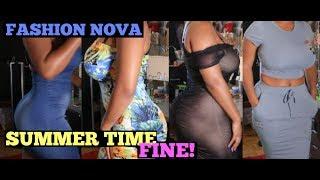 vuclip Summer Time Fine:  FASHION NOVA TRY-ON HAUL   HEYPARIS