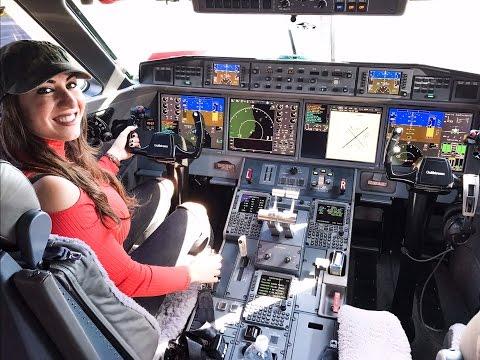Sonikhanem in Gulfstream 650