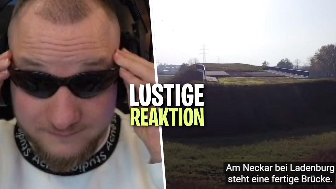 REAKTION auf DIE SINNLOSESTE BRÜCKE DEUTSCHLANDS - Realer Irrsinn | ELoTRiX Livestream Highlights