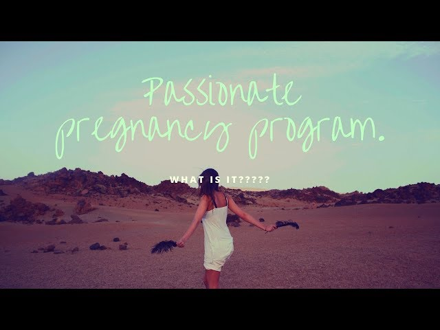 What is the Passionate Pregnancy Program?