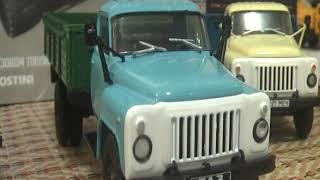 ГАЗ-53-12 пополнение коллекции от журналки Автолегенды СССР Грузовики обзор 1:43