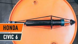 Instrucción: Cómo cambiar Amortiguadores traseros en HONDA CIVIC 6