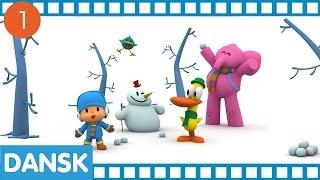 Pocoyo - 30 minutter og fire fulde episoder | tegneserie for børn
