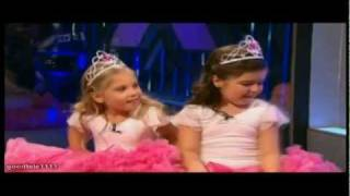 Sophia Grace and Rosie funny Interview on Xtra Factor