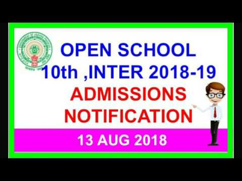 AP Open School 10th and inter notification||open 10th||open inter