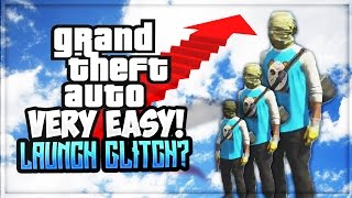 HIGHEST LAUNCH GLITCH | GTA 5 FUNNY MOMENTS - GTA Gameplay (GTA 5 Online Funny Moments)