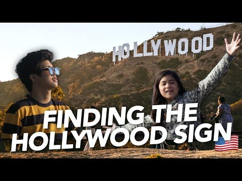 ADVENTURE TO THE HOLLYWOOD SIGN | Ranz and Niana