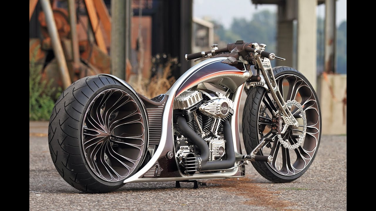 Harley Davidson Custom  Youtube