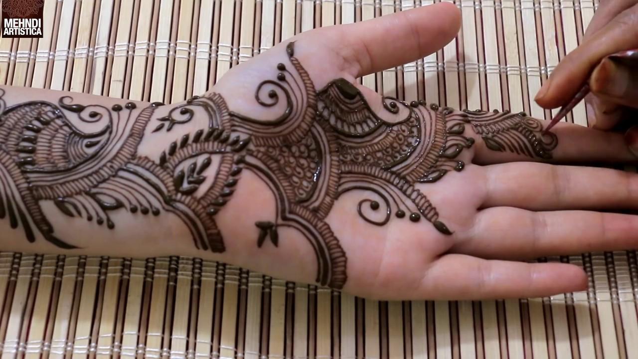 Dulhan Mehndi Designs For Full Hands 2014 : Full hand teej mehendi design dulhan latest easy henna mehndi