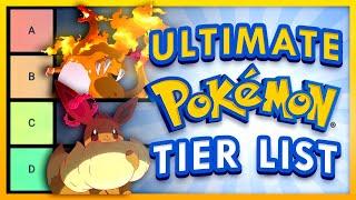 Ultimate Pokemon Tier List - Ranking All Gigantamax forms, Eeveelutions, & More!