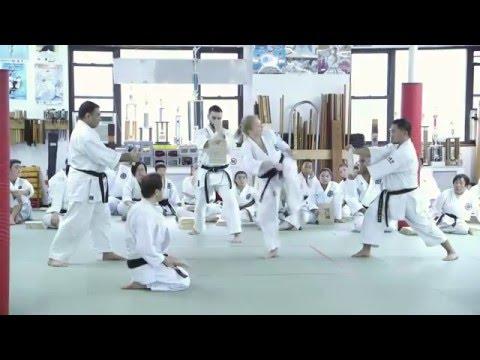Black Belt Promotion Test at Kai Leung's Shotojuku