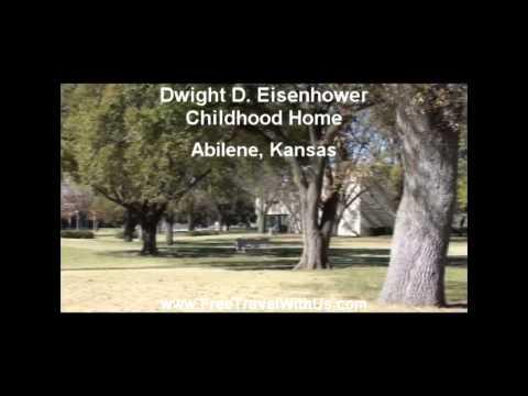 Dwight D Eisenhower Childhood Home Abilene Kansas