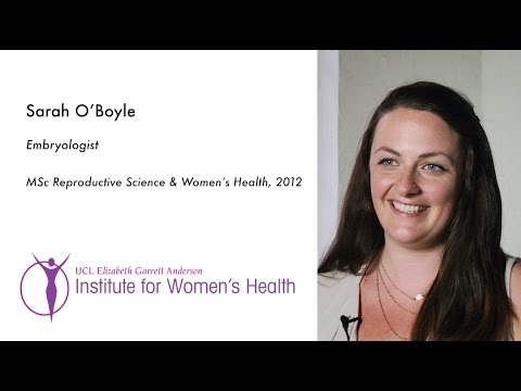 Employability Careers in Embryology - Sarah O'Boyle
