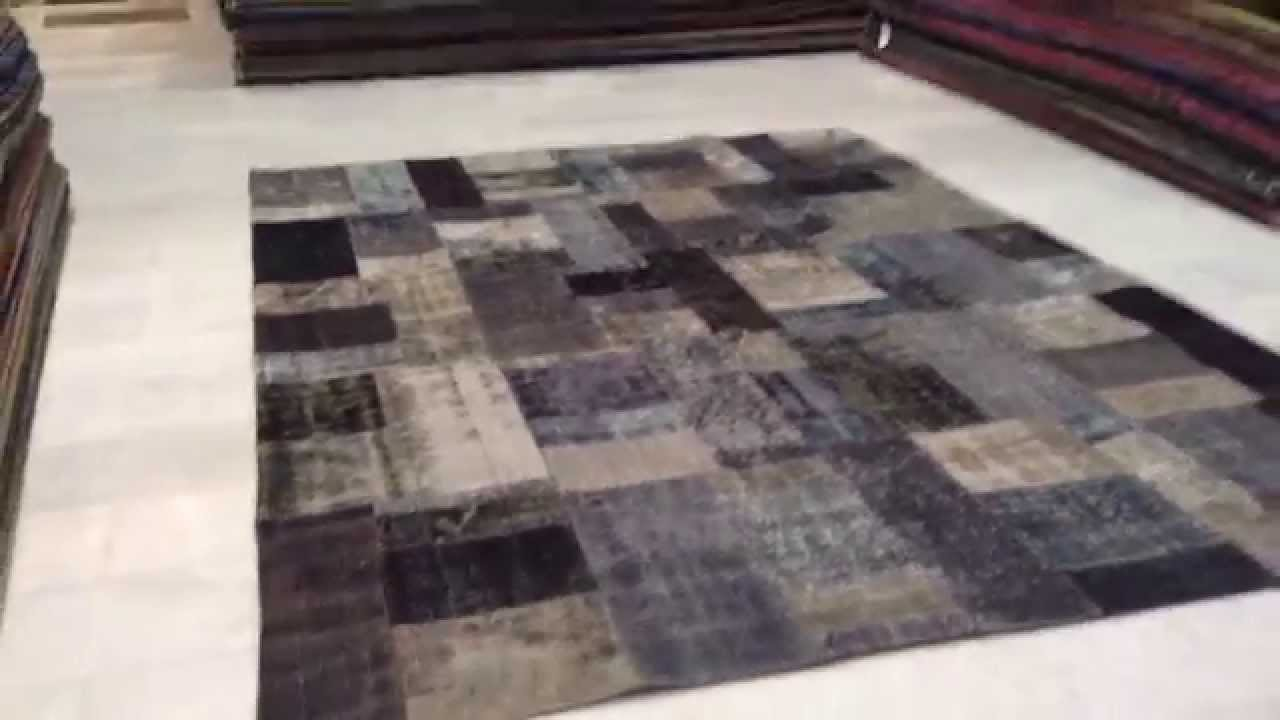 Patchwork Teppich 5568  YouTube