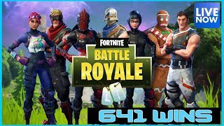 FORTNITE BATTLE ROYALE - COME GET SOME T BUCKS - 641 WINS - (PS4 PRO) Full HD