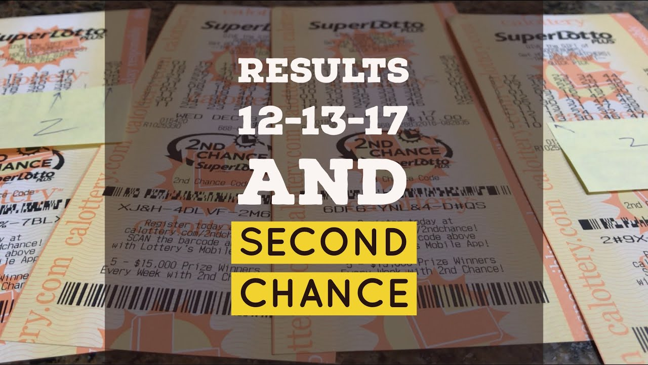 Results SuperLotto Group Play 12 13 17 & Second Chance