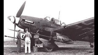 Aviation militaire : Le Ju 87 Stuka Bombardier Allemand