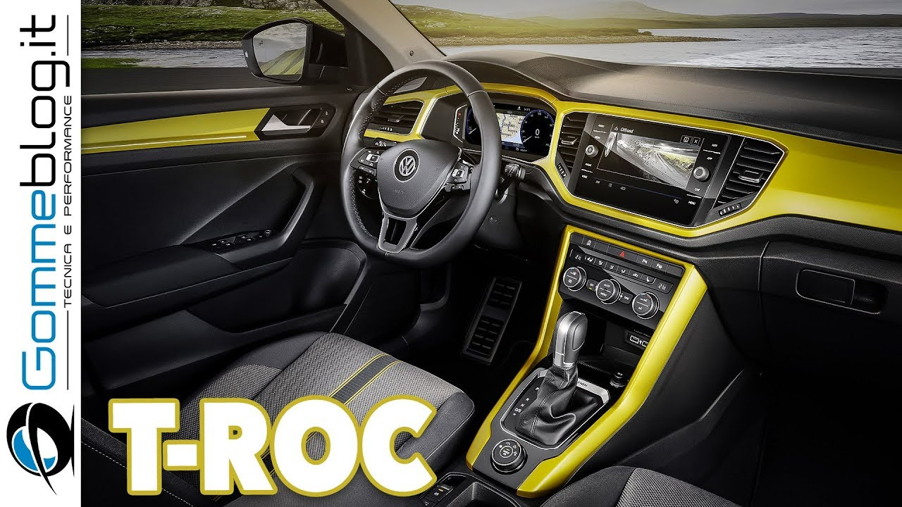 Vw T Roc Interior New 2017 Volkswagen Compact Suv The