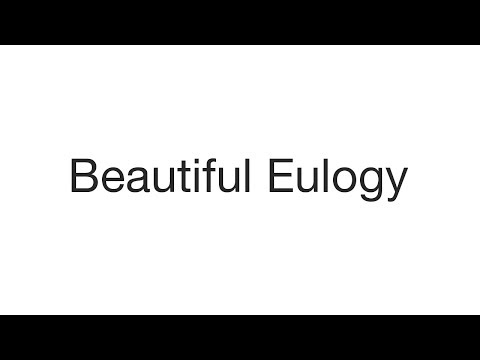Beautiful Eulogy - According To God (lyrics)
