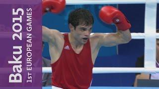 Elvin Mamishzada Wins The Men's Flyweight (52kg) | Boxing | Baku 2015