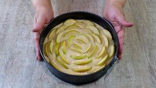 Скорее сохраните себе рецепт! Вкусный пирог с яблоками к чаю !