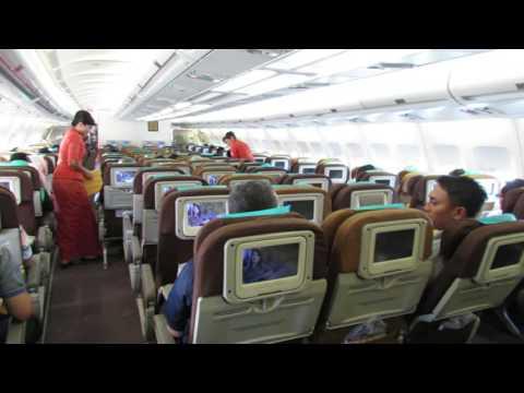 Garuda Indonesia All Economy Airbus A330-300 Solo (SOC) to Jakarta (CGK)