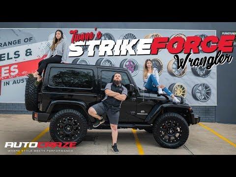 TIONNE'S STRIKE FORCE WRANGLER // Jeep Wrangler KMC Strike Wheels, Nitto Tyres, Lift Kit & More