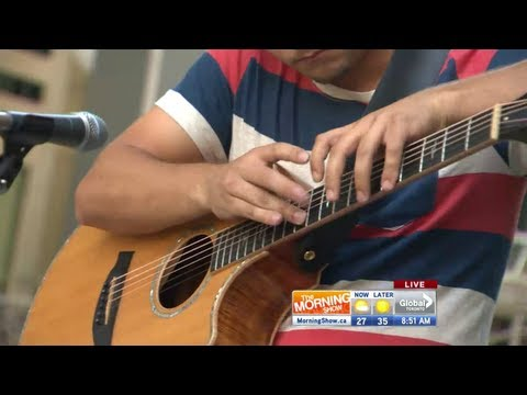 Vanja Andrin performs awesome live guitar for Summer Concert Series