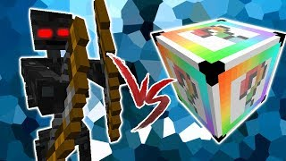 ESQUELETO EVOLUIDO VS. LUCKY BLOCK CHROMA (MINECRAFT LUCKY BLOCK CHALLENGE)