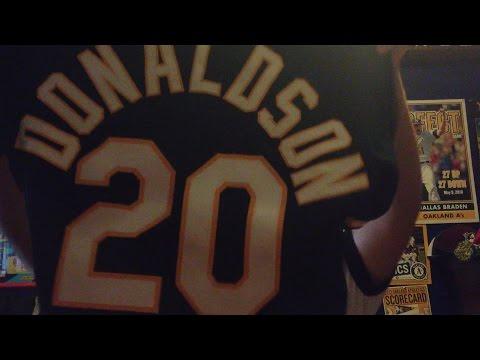 buy online e4edd b8527 MLB Shop unboxing LA Dodgers & Oakland A's