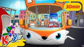 Колёса у автобуса крутятся- часть 3 + Еще! | KiiYii | мультфильмы для детей | детские песни